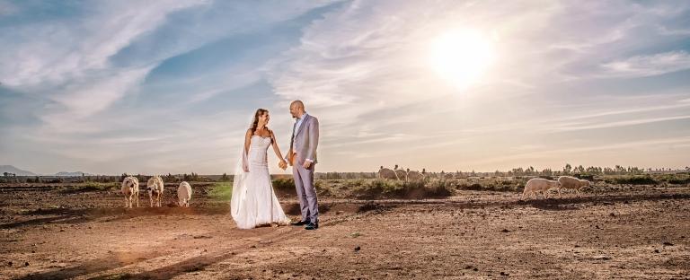 Sussex wedding photographer Sharron Goodyear photographs couple in Marrakech
